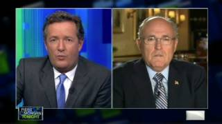 Piers Morgan Tonight - Rudy Giuliani: Obama made economy worse