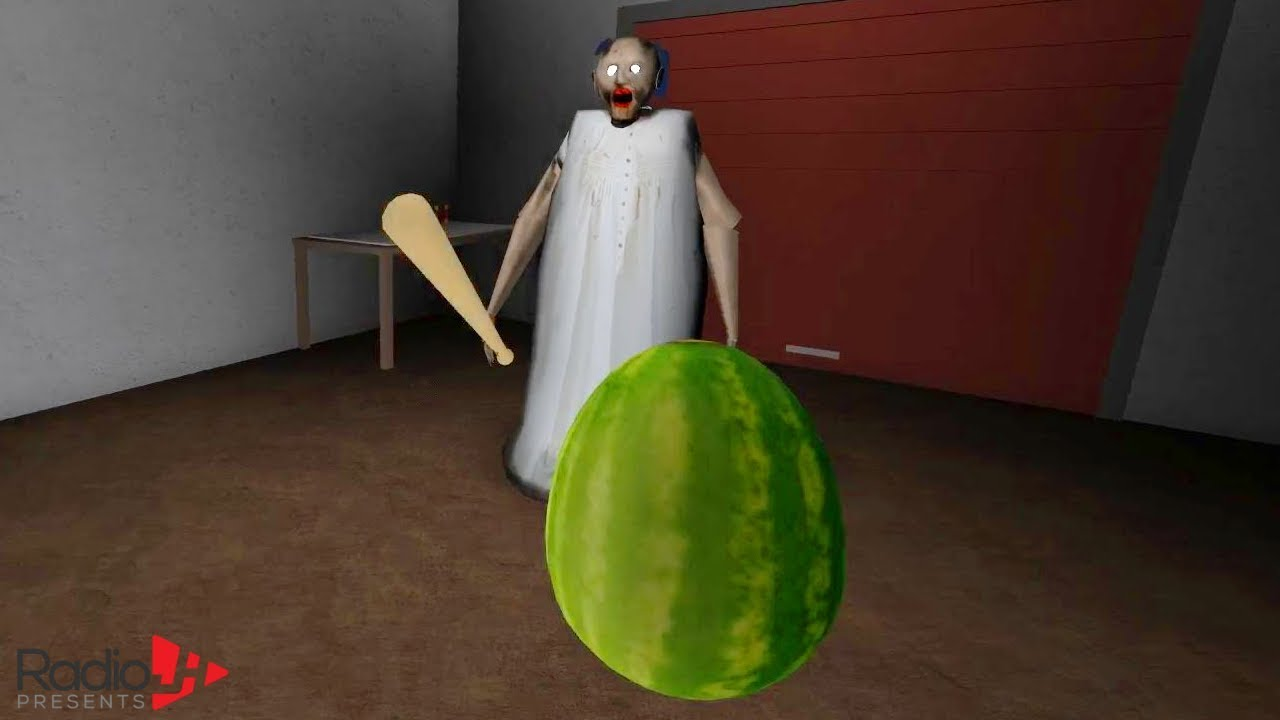 Granny Does The Watermelon Challenge Radiojh Games Gamer Chad