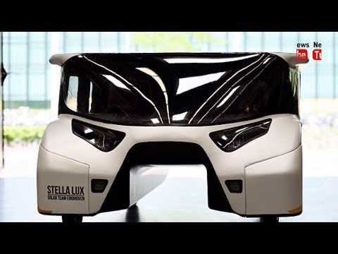 Solar powered family car hailed 'The Future'