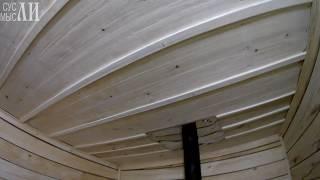 Баня / Щели в потолке / Вторая дверь