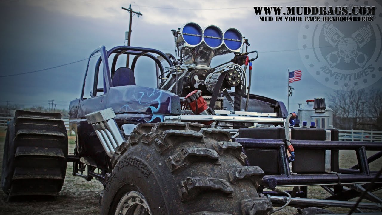 Aggravated A Blown Chevy Powered Mud Dragster San