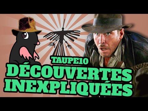 TOP 10 des découvertes historiques INEXPLIQUÉES