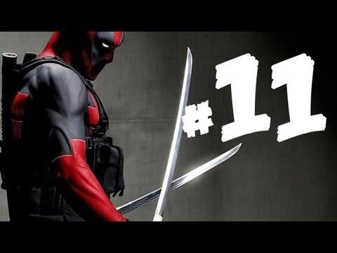 Deadpool Gameplay Part 11 - See No Evil, Hear No Evil, Speak No Evil