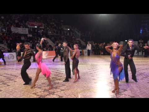 DANCE MASTERS 2011 - IDSF INTERNATIONAL ADULT OPEN LATIN - QUARTERFINAL - P1