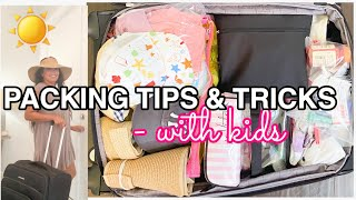 VACATION PACKING TIPS FOR MOMS | BEACH FAMILY VACATION | TIPS & TRICKS TO STAY ORGANIZE