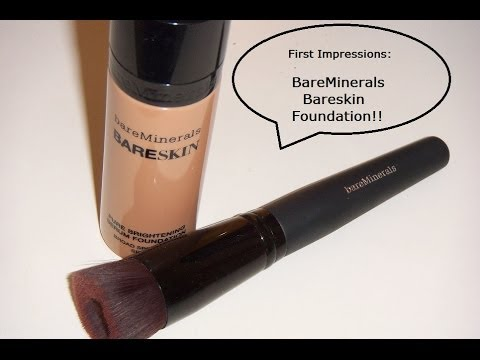 First Impressions on the Bareminerals Bareskin Foundation