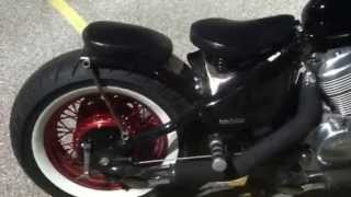 Bobber Honda Shadow Vlx 600 Springer Seat Review