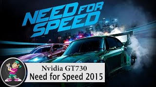 need for speed 2015 on nvidia gt730