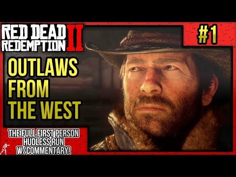 "Red Dead Redemption 2: First Person Mode No HUD Walkthrough P.1 ""Outlaws From The West"" w/Commentary thumbnail"