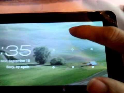 ckk tablet easy remove pattern unlock