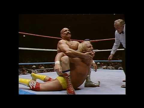 Greatest Matches in WWF Wrestling Hulk Hogan vs The Iron Shiek 1/23/84
