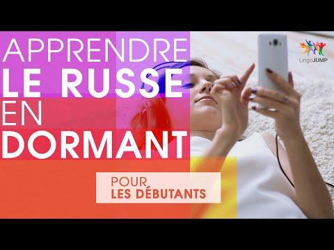 Apprendre Le Russe En Dormant ! Niveau Débutant ! Apprendre Des Mots & Phrases Russes En Dormant !