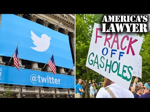 Twitter Bans Political Ads For 2020 Election & Fracking Blocked In California