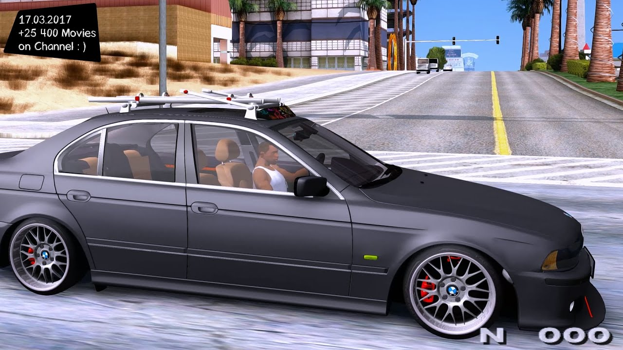 bmw e39 530d gta san andreas tuning 4k 60fps gtx 1080 youtube. Black Bedroom Furniture Sets. Home Design Ideas