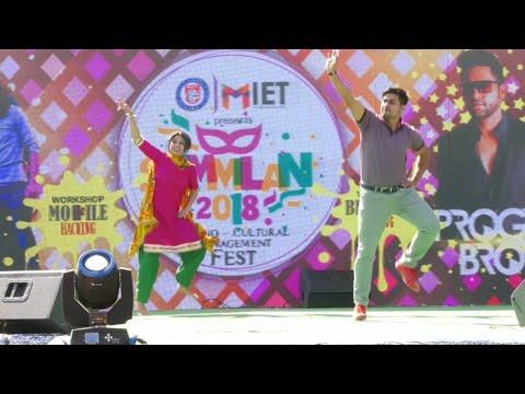 Bhangra at MIET JAMMU SAMMILAN 2K18