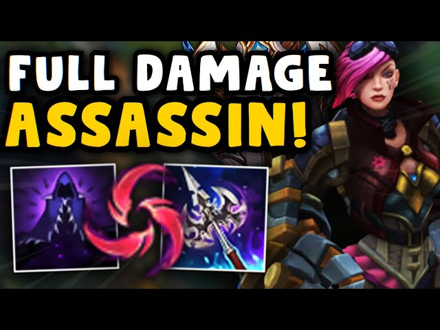 DAY 104 - STOMPING HIGH ELO PLAYERS WITH FULL DAMAGE ASSASSIN VI!! THIS BUILD IS UNDERRATED