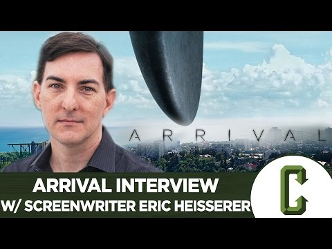 Arrival Interview With Screenwriter Eric Heisserer - Collider Video