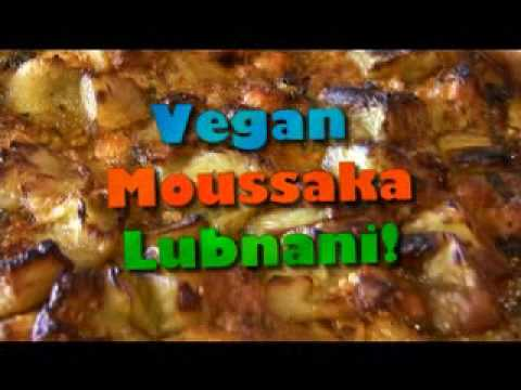 Vegan Moussaka at Cafe Gibraltar with the Hippy Gourmet!