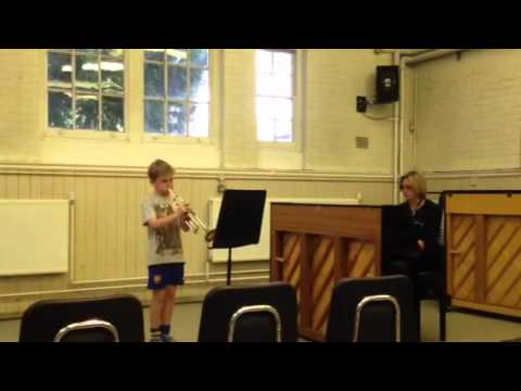 Aaron Josland at bird college concert playing movie busters