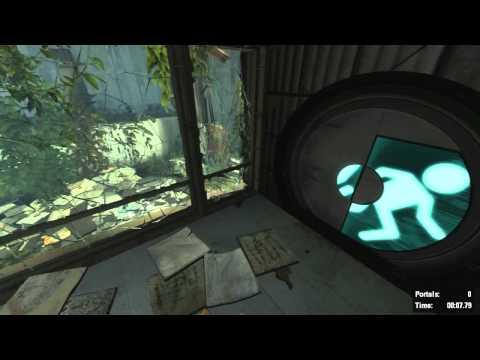 Portal 2 Challenge Runs - Portal Gun 27s