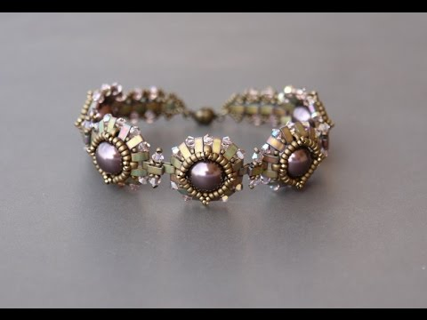 Free Beading Tutorial Beaded Bracelet Pattern By
