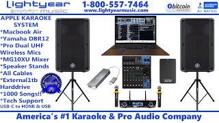 Apple Karaoke System | Macbook Air Karaoke Laptop | Complete Karaoke System