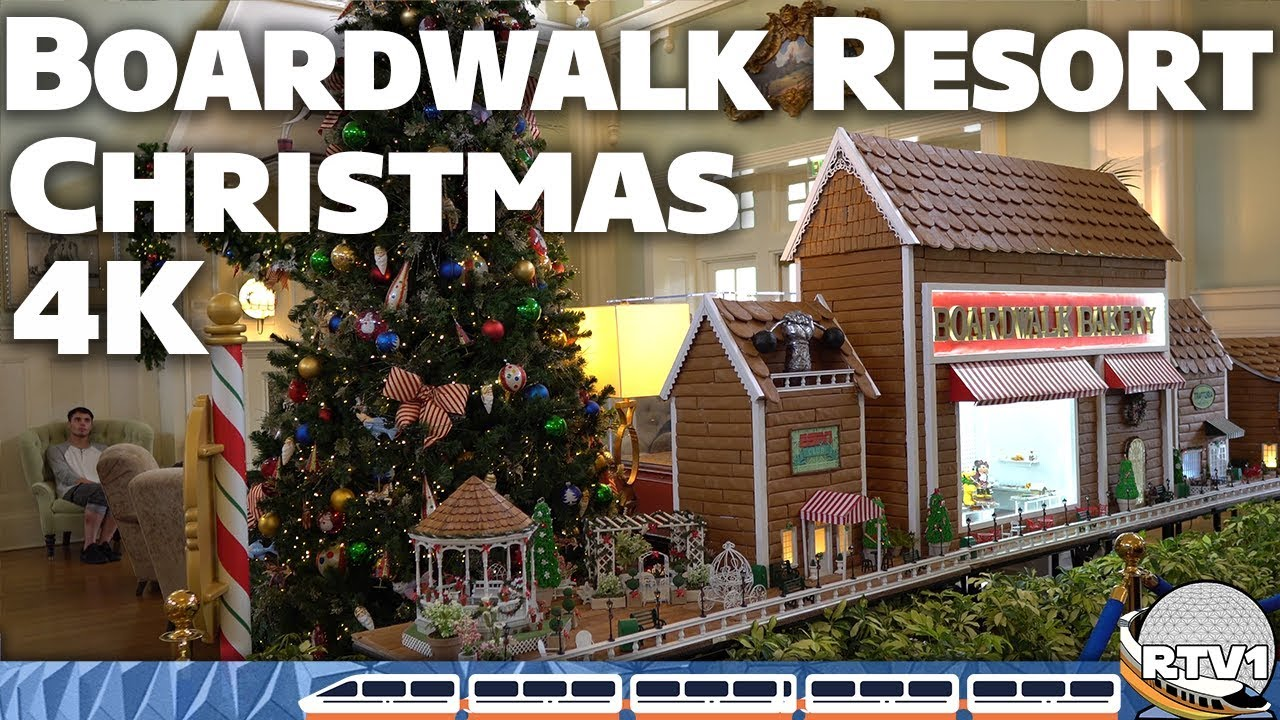 Christmas at Disney's Boardwalk Resort