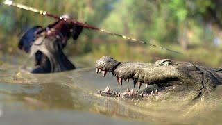 ESPECIAL CROCODILOS - Assassin's Creed Origins - Caçando o Crocodilo Rei