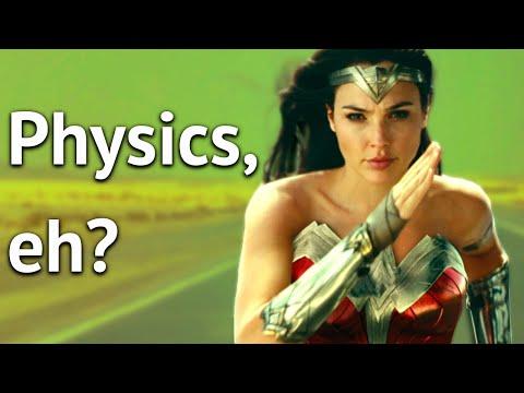 Wonder Woman 1984: Gravity Would Like A Word...