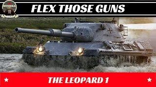 LEOPARD 1 FLEX THOSE GUNS WORLD OF TANKS BLITZ