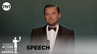 Leonardo DiCaprio Introduces Robert De Niro | 26th Annual SAG Awards | TNT