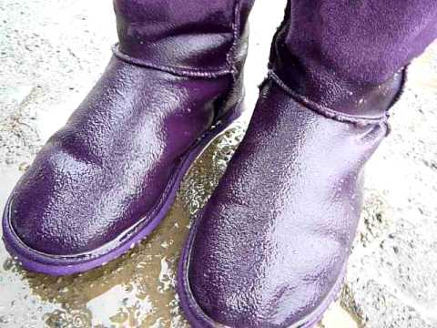 5037364629 Kim wet ugg boots in puddle P1040955v (54)v.MOV - YouTube