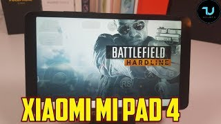 Xiaomi Mi Pad 4 Witcher 3/Battlefield Hardline Gameplay/PS4 Games on Android tablet Gloud games