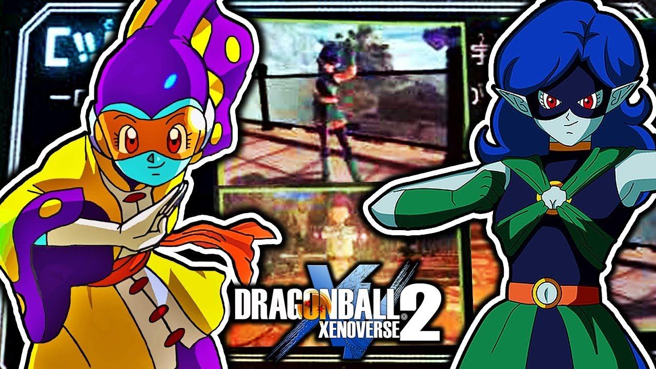 Dragon Ball Xenoverse 2 Kakunsa \u0026 Rosie DLC CaC Costumes