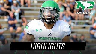 North Dakota at Sacramento State | Highlights | UND Football | 8/20/18