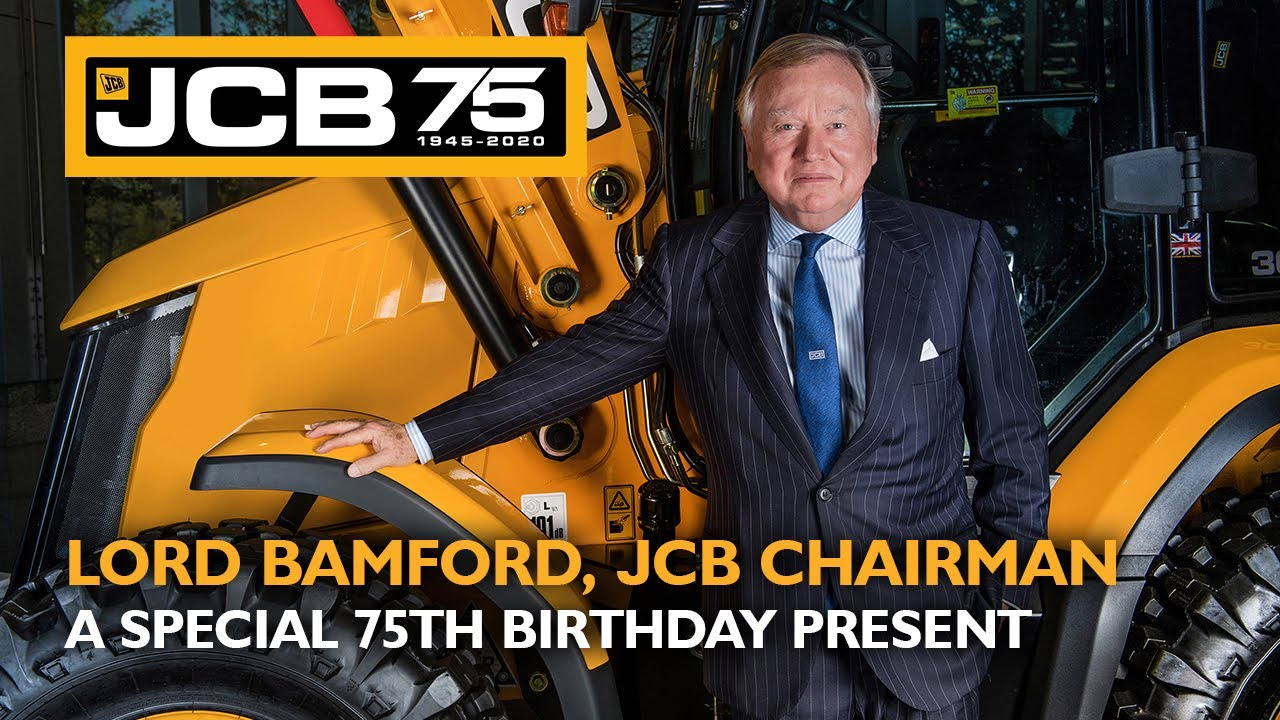 Lord Bamford's 75th Birthday Present - Digitised JCB Film Archive