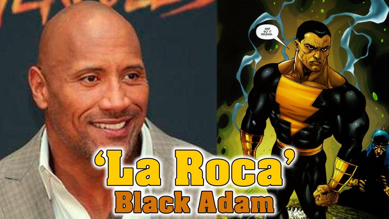 La roca the rock ser black adam en la pel cula de for La roca film