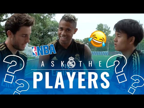 Ask the Real Madrid players | Kubo, Odriozola & Mariano
