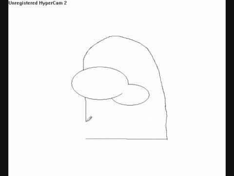 Line Drawing Penguin : How to draw a penguin head youtube