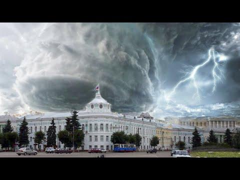 Мощный торнадо в России обрушился на Тверскую область! Катаклизмы сегодня! События 3 АВГУСТА 2021!
