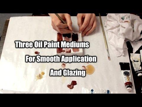 3 Fast Drying Oil Paint Mediums   Maj Askew