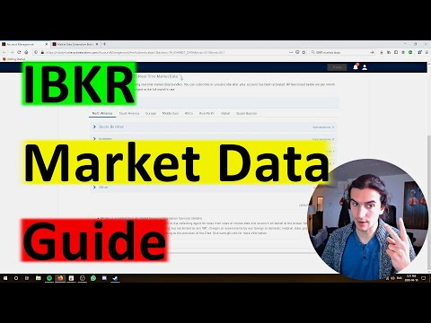 How to Subscribe to Market Data with Interactive Brokers