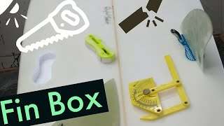 Fin Box replacement ding repair