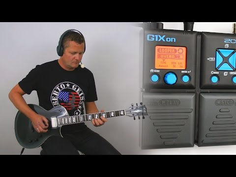 Zoom G1Xon - Looper