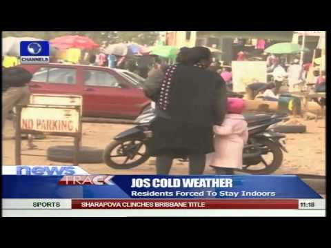Cold Weather Forces Jos Residents To Stay Indoors