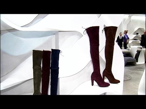 53cc9901b54 Shopping for boots with Stuart Weitzman - YouTube