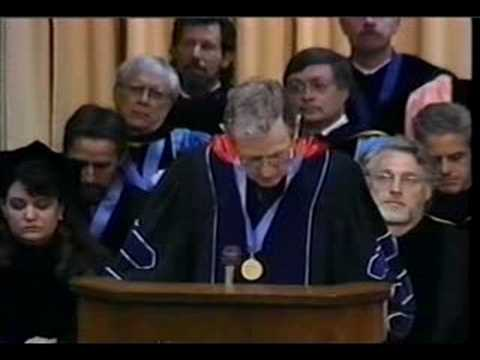 Anthony Gair Commencement Address, Thomas M. Cooley Law School, May 13th 2000. In part 1, Thomas E. Brennan, president of the School introduces Anthony Gair and discusses his career as a...