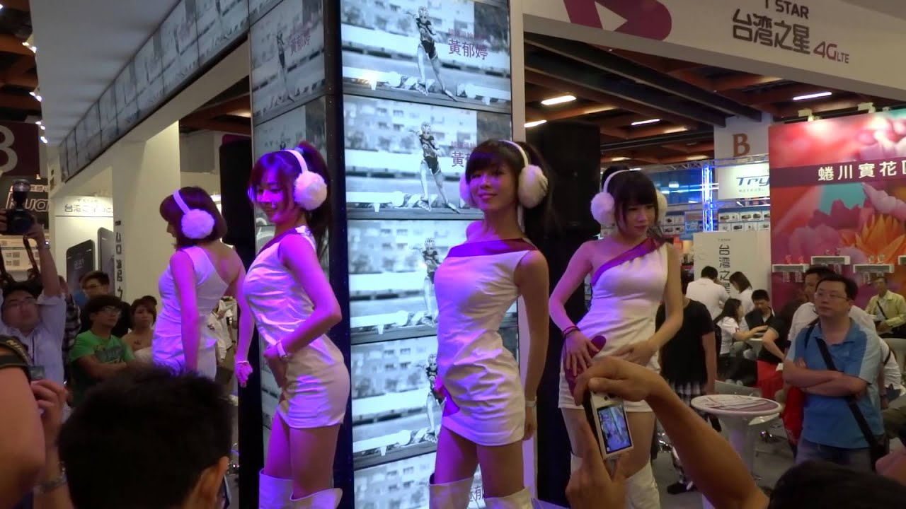 20141130資訊展台灣之星1:30舞台表演
