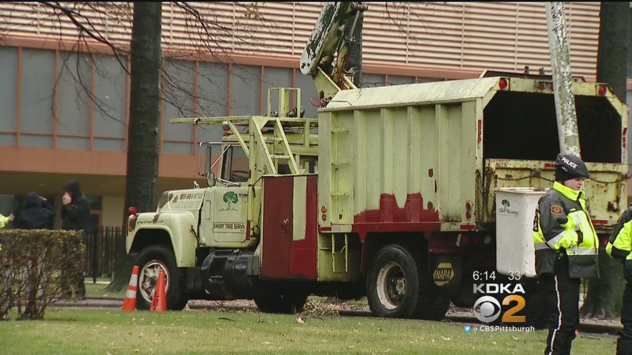 Man Thrown From Bucket Truck, Killed While Trimming Trees Downtown
