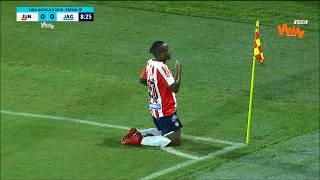 Junior vs. Jaguares (1-2) | Liga Aguila 2018-II | Fecha 19